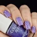 Purple Mojito Nail Art Sakura
